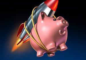 Piggy Bank Rocket