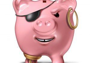 Pirate Piggy Bank